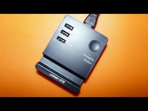 Настольная USB зарядка UGREEN обзор