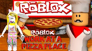 ROBLOX Working At The Pizza Place