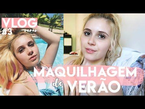 Maquilhagem de VERÃO - PUNTA CANA- VLOG 3   Joana Gentil