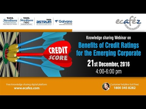 Benefits & uses of Credit Rating for the Emerging Corporate