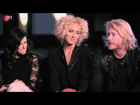 LITTLE BIG TOWN Interviewed by Kylie Olsson at The Brooklyn Bowl, London 6th Oct 2015