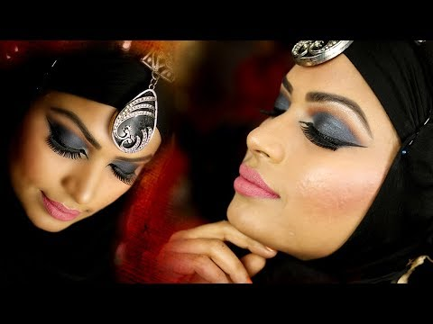 Low budget simple Arabic  Makeup Tutorial | Prabha Makeover thumbnail