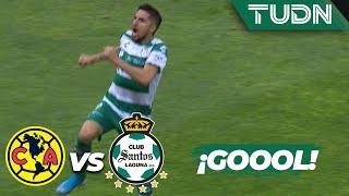 ¡Se empata el partido! | América 1 - 1 Santos | Liga MX - Ap19  - J17 | TUDN