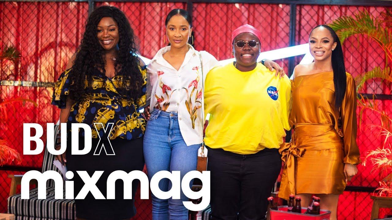 Download Teni The Entertainer, Toke Makinwa and Adesua Etomi 'Women Leading Nigerian Culture' at BUDX Lagos