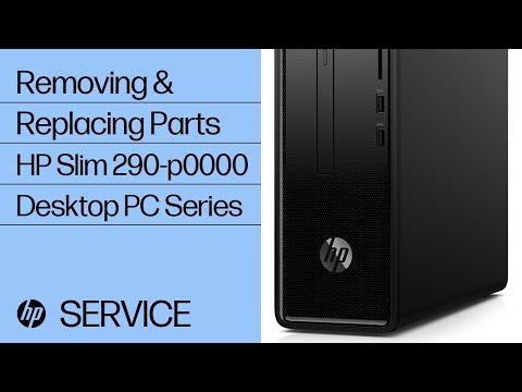 Service Teardown: HP Slim 290-p0000 Desktop PC Series | HP Computer Service | HP