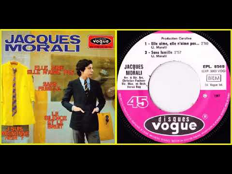 JACQUES MORALI (AGE 20) EP 1967 Side A