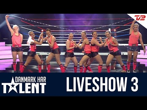 GugRopeSkipping Team - Danmark Har Talent - Liveshow 3