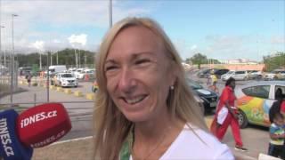 Eva Vrabcová Nývltová před startem v Riu