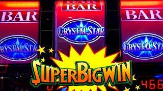 CRYSTAL STAR Slot Machine HUG WIN | Dragon Rinsing Slot ENVELOPE JACKPOT & Max Bet Bonus | PREMIERE
