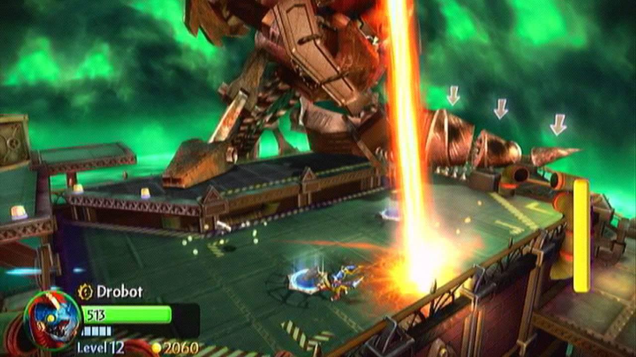Skylanders: Giants - Drill-X Boss Battle - YouTube | 1280 x 720 jpeg 116kB
