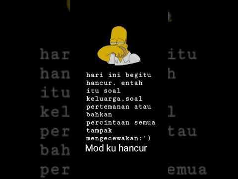 Story Wa Mood Hancur Youtube