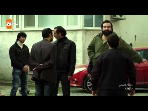 Serhat ve Dadaylı, Adamlar'la Kavga Sahnesi - Kaçak 10.Bölüm