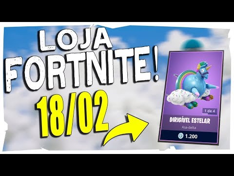 Loja Fortnite - Loja De Hoje 18/02/2019 nova asa delta