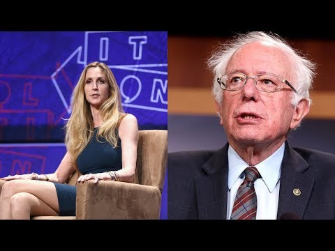 Ron Verb - Ann Coulter Says She Might Support Sanders In 2020