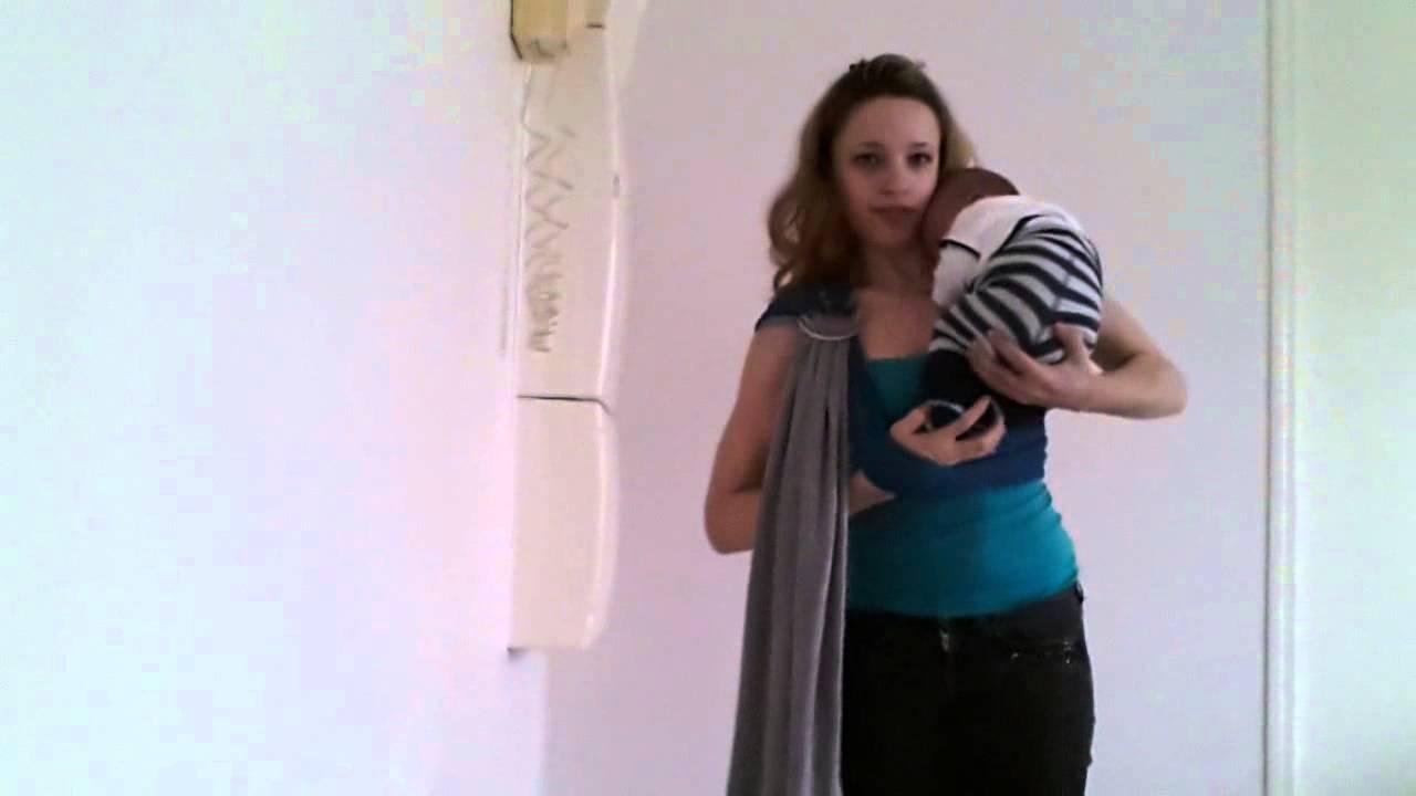 1b7be132375 Pesn (sling Jpmbb) installation bébé   nouveau né ventrale - YouTube