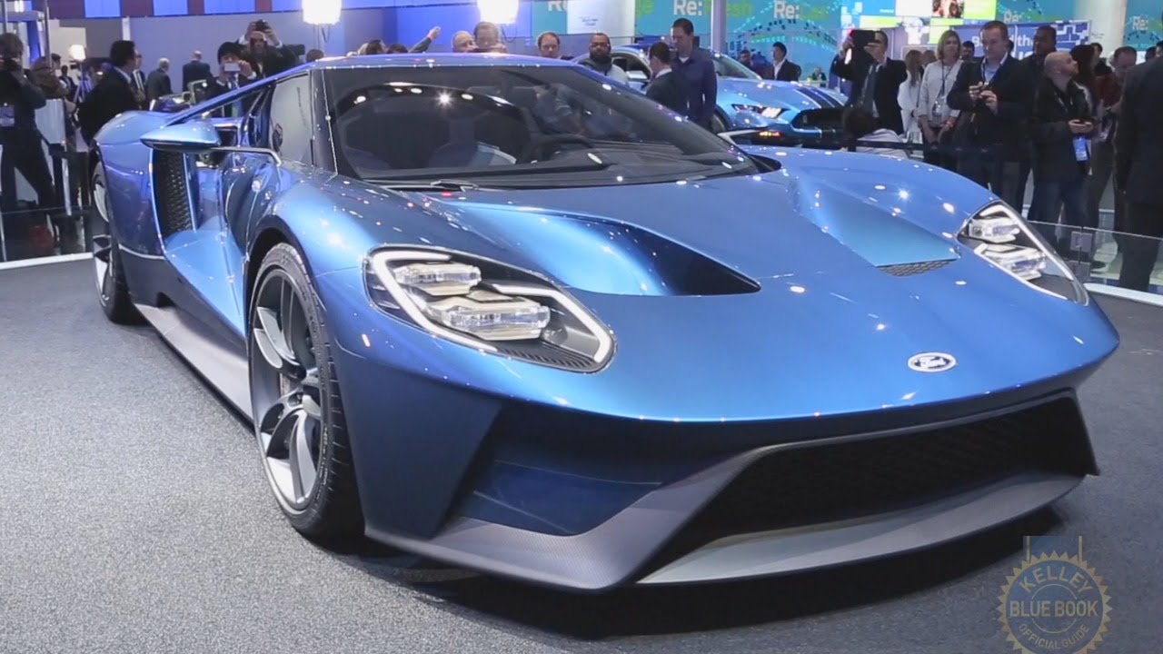 2017 Ford GT - 2015 Detroit Auto Show - YouTube