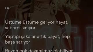 Simge - Ben Bazen şarkı sözleri Video