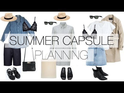 Summer capsule wardrobe I Part 1: visual idea & planning