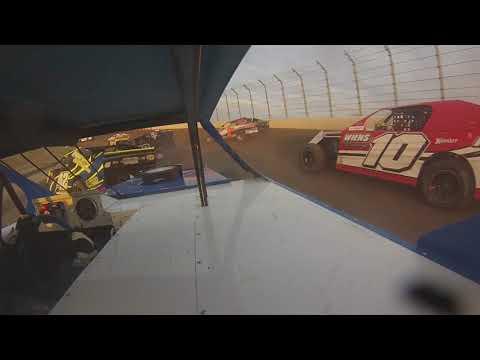 Dodge City Raceway Park Kyle Wiens #18 Sport Mod B-Feature Wreck 06/08/2018