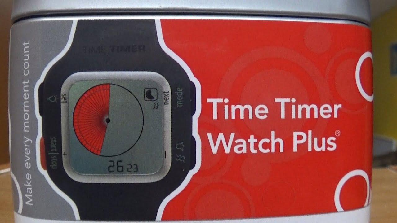 La montre Time Timer Watch Plus