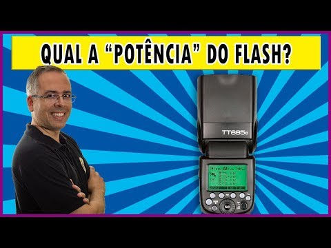 """Qual a """"potência"""" do flash dedicado?"""