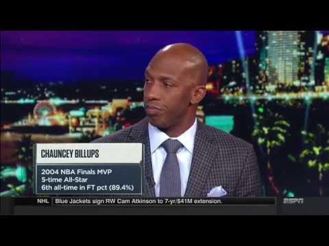 Chauncey Billups On Why Thunder Struggle in the clutch | NBA Countdown | Nov 17, 2017