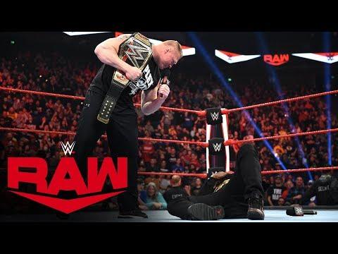 Brock Lesnar sends R-Truth to Suplex City: Raw, Jan. 13, 2020