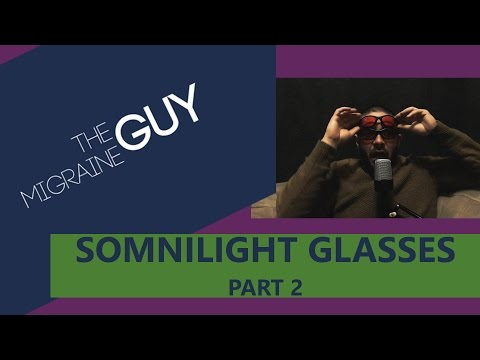 The Migraine Guy - Product Review - SomniLight Migraine Relief Glasses - Do They Work?