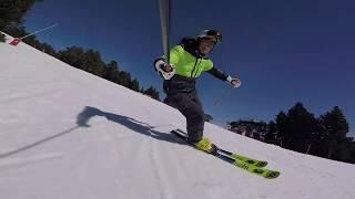 Ski Carving #8 - une descente avec le Ski-Mojo