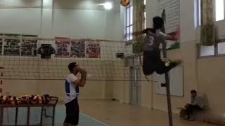 MONSTER Volleyball 3-rd Meter Spikes (HD) #4