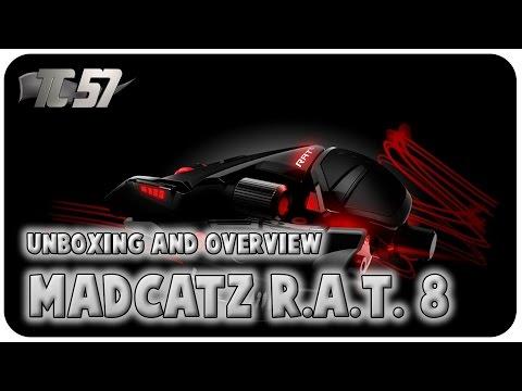 Tests | [FR] New Mad Catz RAT 8 Kameleon Unboxing & Overview