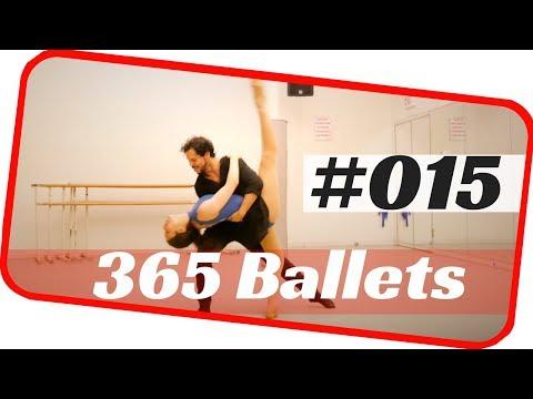 Contemporary ballet pas de deux- ballet 015- nyc ballet