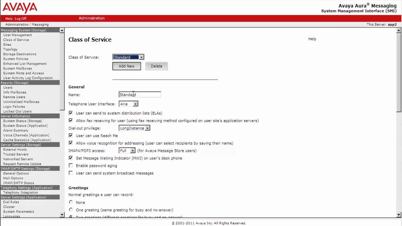 how to configure telephone user interface tui options on avaya aura rh youtube com Avaya Telephone Manual 5410 Avaya Checking Voicemail
