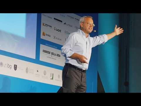 Campus Party - Milano - Enrico Mentana Discorso sulle Fake News