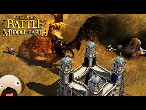 BALROG GOBLIN ARMY - Battle for Middle Earth 2 Rise of the Witch King