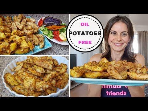 How To Make Roast Potatoes Oil Free Recipe
