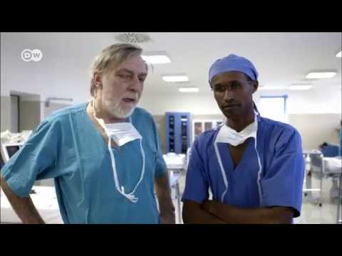 Africa's only hospital providing free open heart surgery DW Documentary