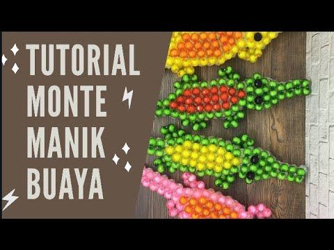 DIY Tutorial | Membuat Gelang Bunga Dari Manik-manik.