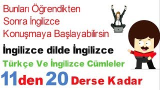 İngilizce Türkçe Dersi - 2
