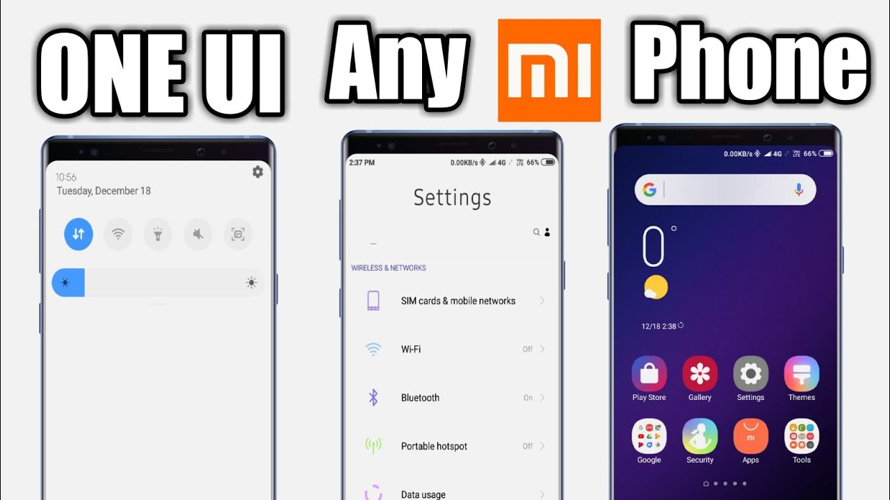 ONE UI | Any Xiaomi Phone | One Ui Install Any Xiaomi Phone