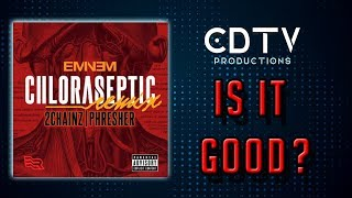 """Eminem """"Chloraseptic REMIX"""" (feat. 2 Chainz & Phresher) Review - IS IT GOOD?"""