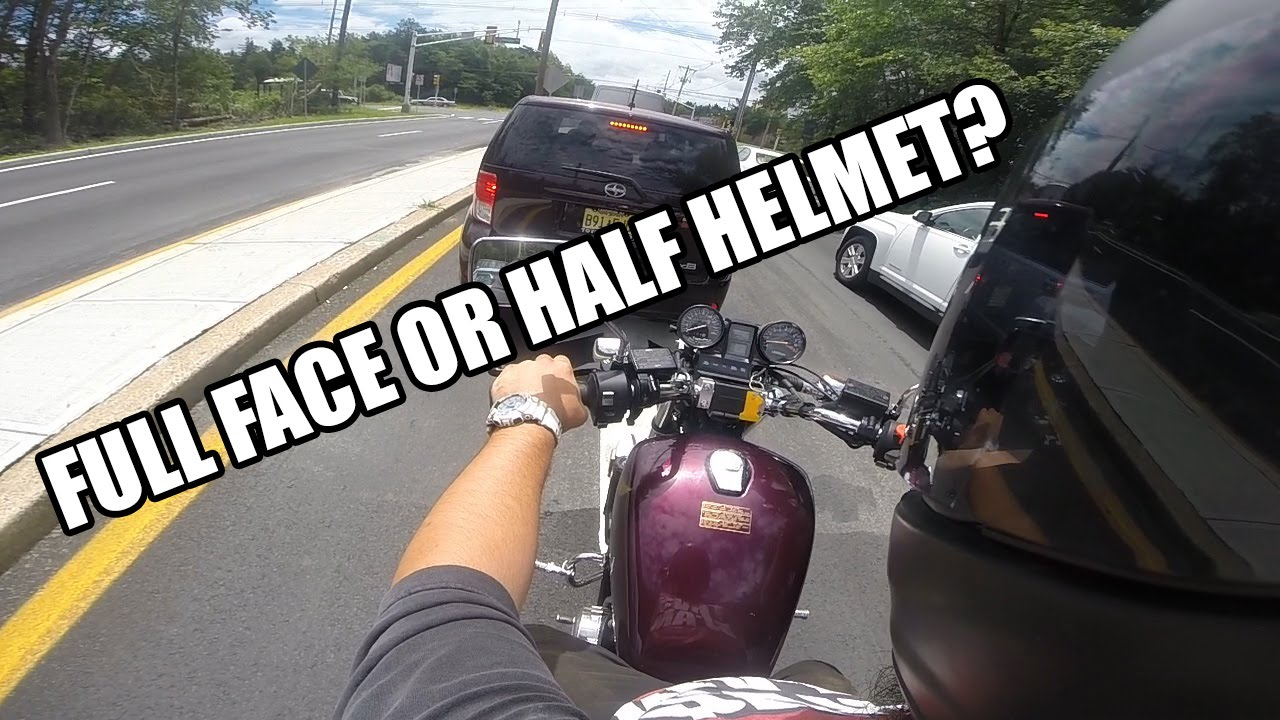 Full Face Cruiser Helmets >> Half Helmet Vs Full Face Helmet Njbikelife