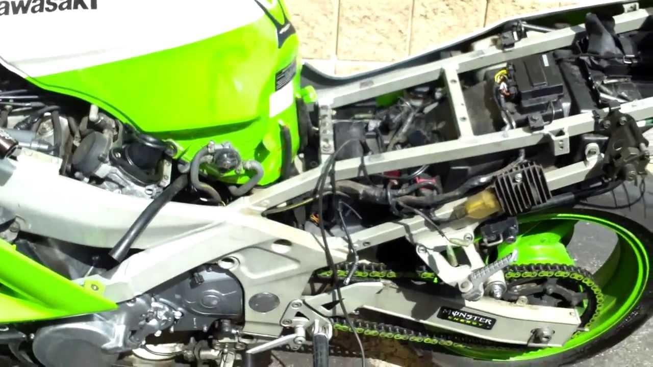 ... Diagram Zx6r 1999. Wire Repair On My Ninja Youtube & Wiring Diagram Zx6r 1999 Free Download Wiring Diagram | Xwiaw