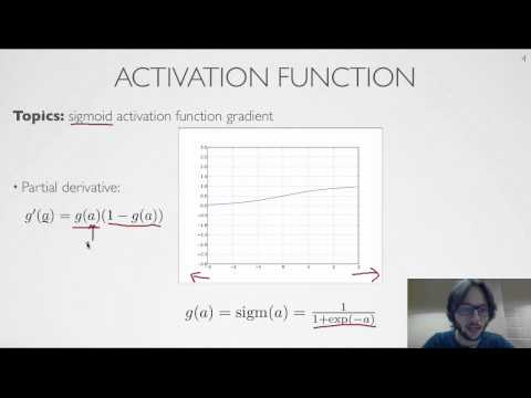 Neural networks [2.5] : Training neural networks - activation function derivative