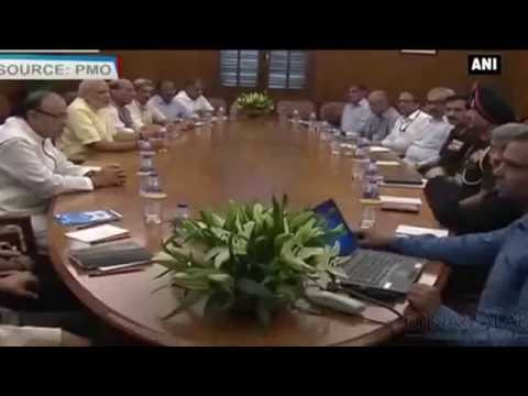 PM Modi Calls Emergency Cabinet Meet On India Boarder Security