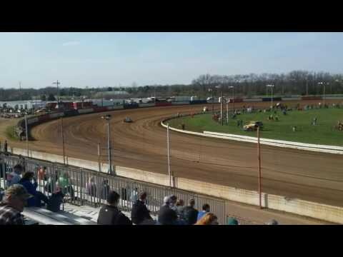 USAC Silver Crown Hot Laps Terre Haute Action Track