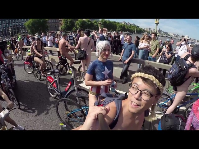 WNBR LONDON 2017 l World Naked Bike Ride 2017 l Editin