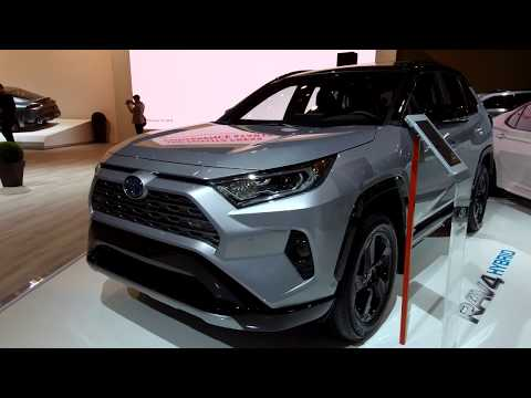 Toyota RAV Hybrid @  Canadian International Auto Show