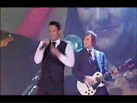 The Last Goodnight perform Pictures Of You at the Logies 08