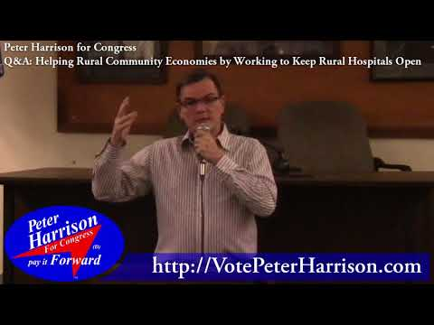Helping Rural Economies by Keeping Rural Hospitals Open ● Peter Harrison for Congress